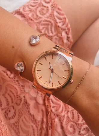 Relógio Marie - Rose - Ref.: M2