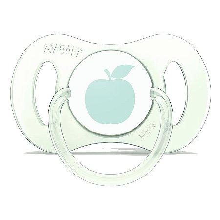 Mini Chupeta para Recém-Nascidos - Verde - 1 unidade - Philips Avent