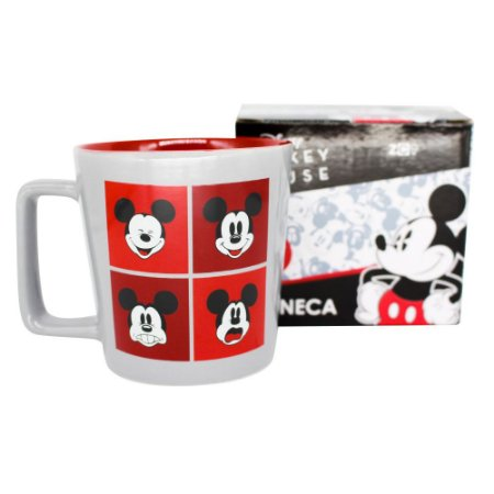 Caneca Buck 400ml Disney - Mickey Expressões