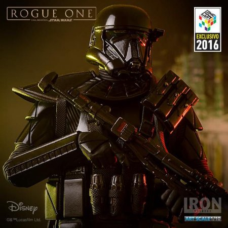 Death Trooper Star Wars 1/10 Iron Studios Exclusivo CCXP 2016