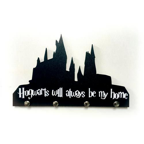 Porta-chaves Harry Potter - Hogwarts will always be my home