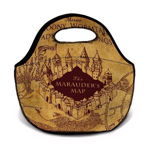 Bolsa Térmica Harry Potter - Mapa do Maroto