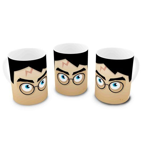 Caneca Harry Potter - Minecraft