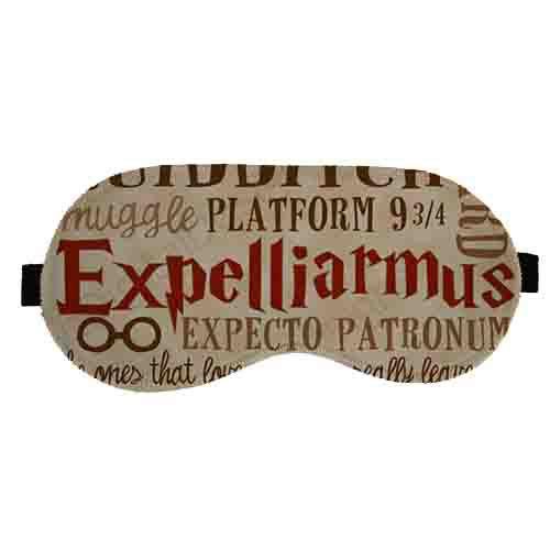 Máscara de Dormir Harry Potter - Expelliarmus
