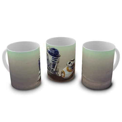 Caneca Star Wars - R2-D2 & BB-8