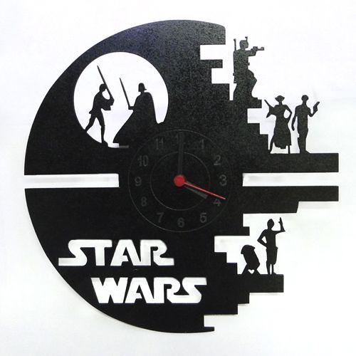Relógio de Parede Star Wars -  Estrela da Morte