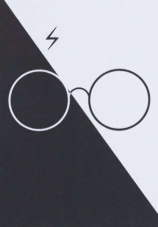 Placa Decorativa Harry Potter - Óculos