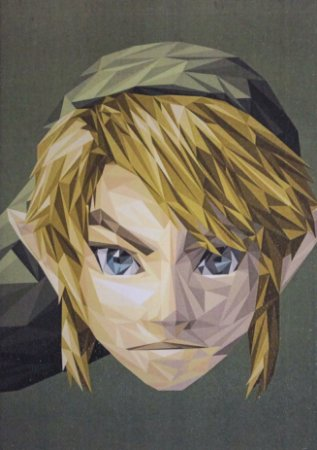 Placa Decorativa Zelda - Link