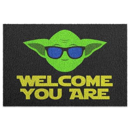 Capacho Vinil Star Wars - Welcome You Are