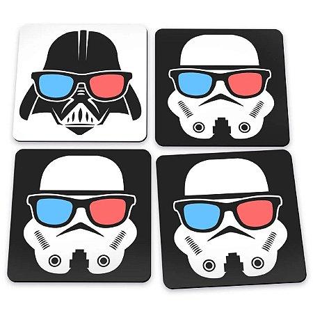 Porta Copos Star Wars - Império Óculos 3D