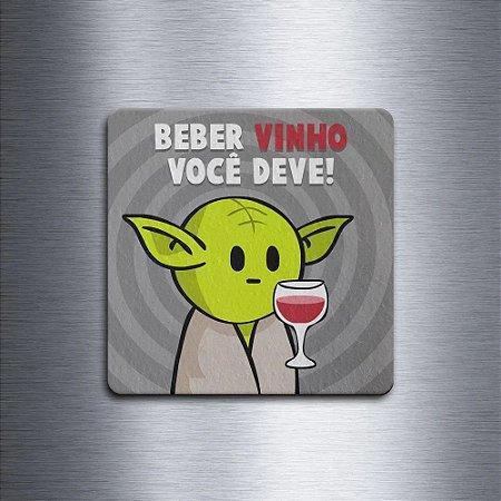Porta Copo Ecológico Star Wars - Beber vinho você deve