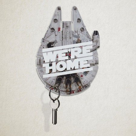 Porta Chaves Star Wars - Millenium Falcon We're Home
