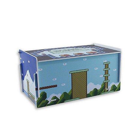 Caixa de Remédio Super Mário - Levels