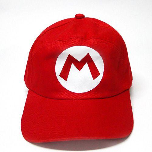 Boné Super Mario - Mario