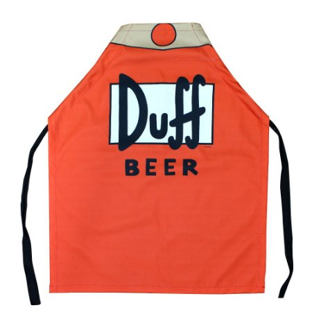Avental Canvas Simpsons - Duff