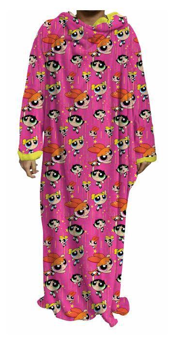 Cobertor Com Mangas Meninas Super Poderosas