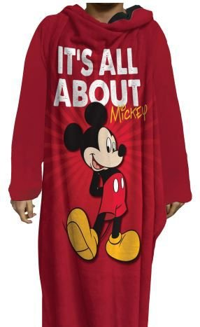 Cobertor Com Mangas It's All About Mickey