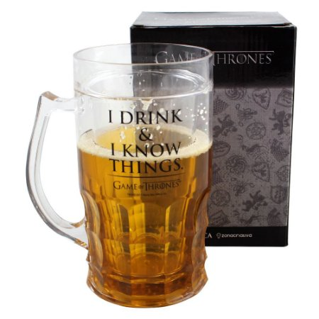 Caneco de Chopp 500ml Game of Thrones - I Drink & I Know Things