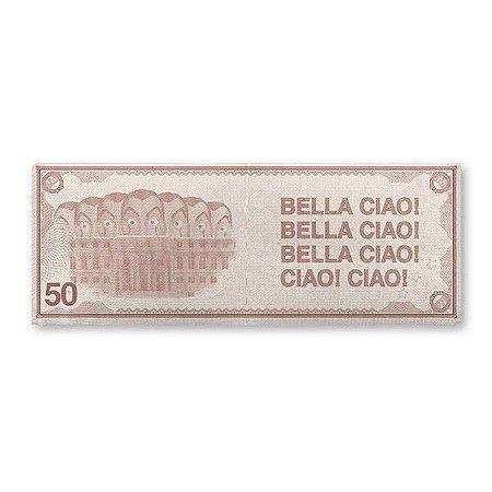 Carteira Slim La Casa de Papel - Dinheiro Bella Ciao