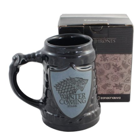 Caneca 3D Game of Thrones - Stark House