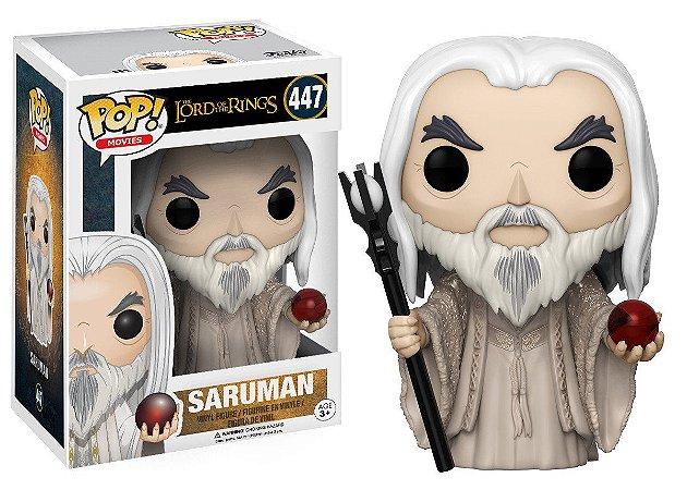 Funko Pop Senhor dos Anéis - Saruman