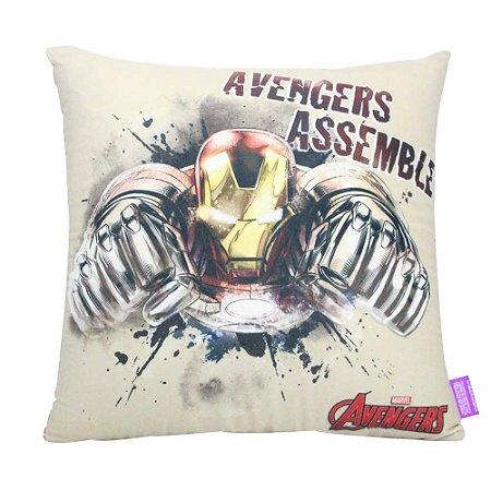 Almofada Avengers - Iron Man Avengers Assemble