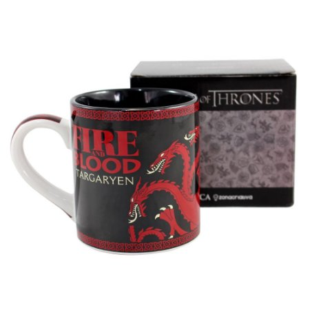 Caneca 470ml Game Of Thrones - Targaryen