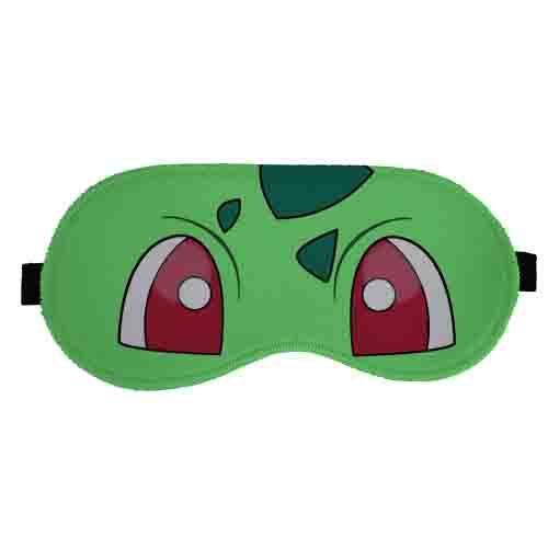 Máscara de Dormir Pokemon - Bulbassauro