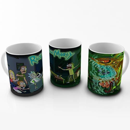 Caneca Rick and Morty - Monstro