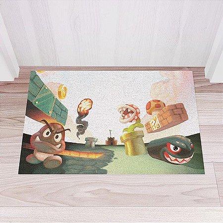 Capacho Vinil Super Mario - Mundo Mario