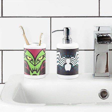 Kit de Banheiro Homem Aranha -  Vilões