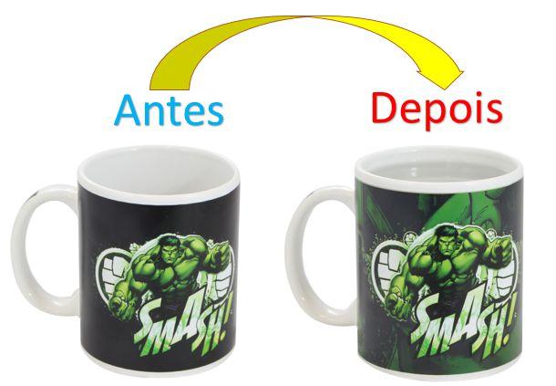 Caneca Mágica Reativa Marvel - Hulk Smash!