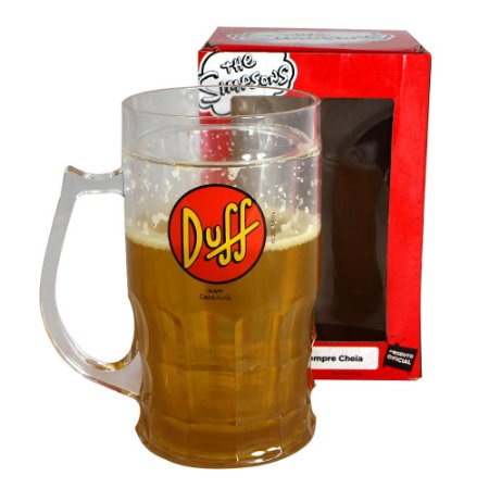 Caneco de Chopp 500ml Simpsons - Duff Beer