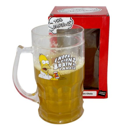 Caneco de Chopp 500ml Simpsons - Homer Arroto