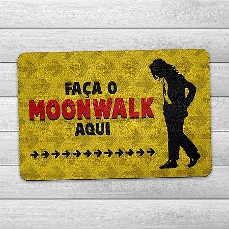Capacho Ecológico Faça o Moonwalk Aqui