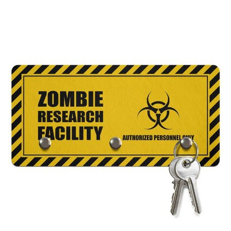 Porta Chave Zombie Research Facility
