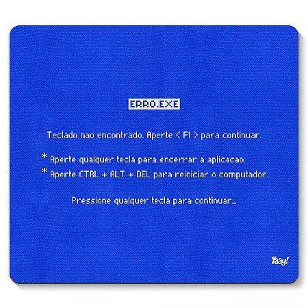 Mousepad Tela Azul