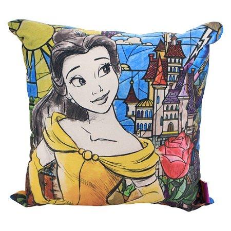 Almofada Disney - Princesa Bela Aquarela