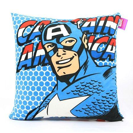 Almofada Marvel - Capitão América Pop Art