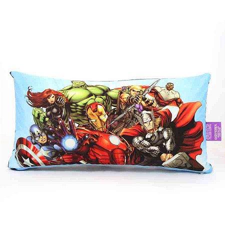 Almofada Fibra Marvel - Avengers Azul