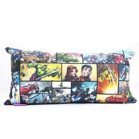 Almofada Fibra Marvel - Avengers HQ