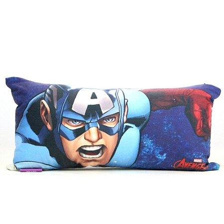 Almofada Fibra Marvel - Capitão América Ícone
