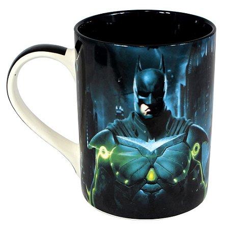 Caneca Reta Dream Mug Injustice 2 - Batman x Superman