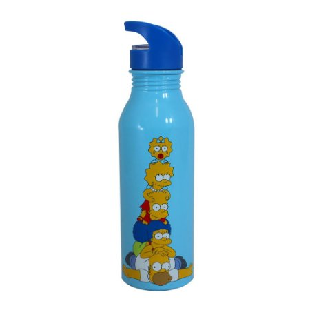 Garrafa 600ml Simpsons - Família