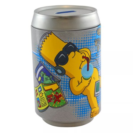 Cofre Lata Simpsons - Bart