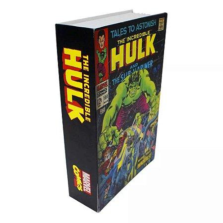 Cofre Livro Marvel - O Incrivel Hulk