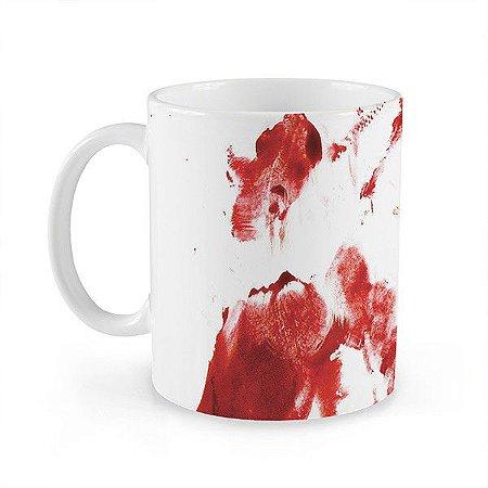 Caneca Suja de Sangue