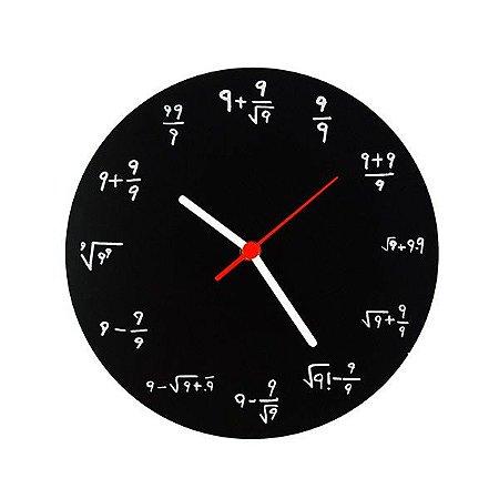 Relógio de Parede Formulas 9