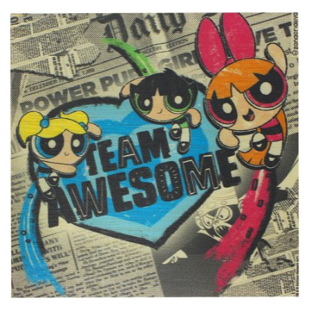 Quadro MDA Meninas Super Poderosas - Team Awesome