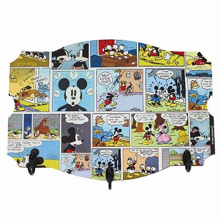 Pendurador de 3 ganchos Mickey - HQ Colors